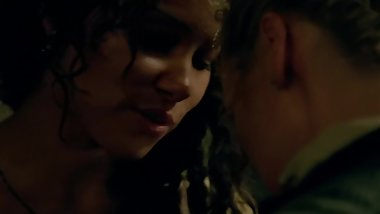 Jessica Parker Kennedy & Hannah New - Black Sails Lesbian Nude Scene