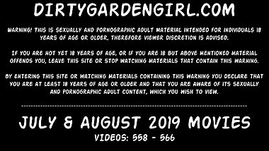 Dirtygardengirl fisting prolapse giant toys extreme - july & august 2019