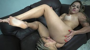 Lesbian slave love to be humiliated