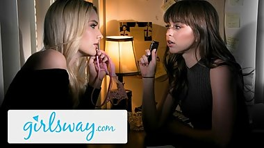 GIRLSWAY Riley Reid Lucks Out When Kenna Wants Revenge Sex!