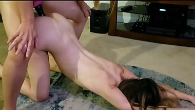 Best anal strapon sex I've had with a lesbian friend