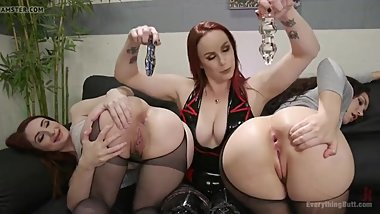 Two Nasty Girl's Try To Steal Some Nice Sex-Toy's