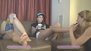 Slave Girl Foot Sucking