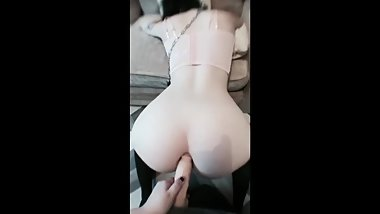 Tattooed Girl Getting Fucked in The Ass (Loud Moans)