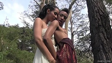 Isis Love & Nikki Darling (Lesbians in the Wild)