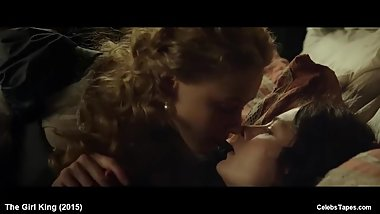 Celeb Actress Sarah Gadon & Malin Buska Naked Romantic Movie Scenes