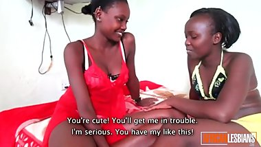 Real African Amateur Lesbian Teens