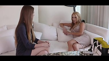 Hot lesbian therapist offers sexual healing femdom style