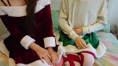 A Christmas message from Rosie and Alena  Happy Holidays Everyone!