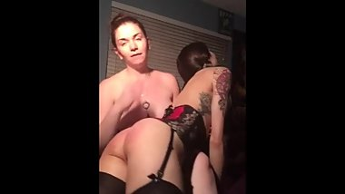 Girl punishes her girlfriend