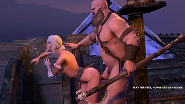 3SOME ORGY WITH Ciri Yennefer