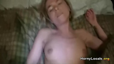 Blonde open-legged gets good fucked