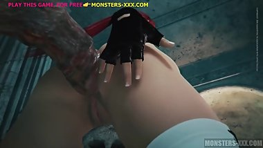 3D MONSTER FUCK WITH REDHEAD TEEN 2