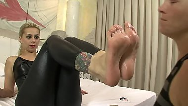 Patricia first foot domination
