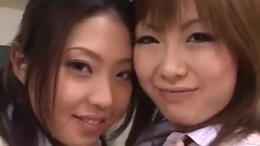 Rio Hamasaki and friend. Rio is so beautiful. Perfect large breasts & smile