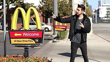 Kissing Prank - McDonald's EDITION