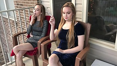 Brooke and Lacey - VS120 Smoking Sisters