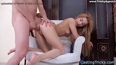(Chansophorn Phal)-Sex Casting Beautiful girl gets Creampied