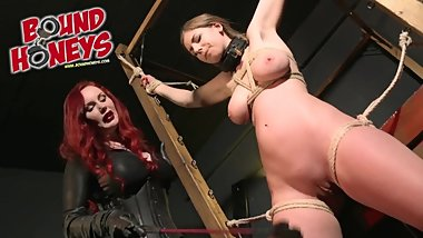 Breaking in Slave Stella - feat Mistress Hel & Stella Cox