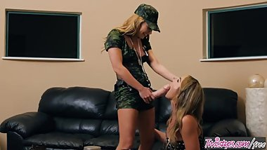 Twistys - A Treat Story New Recruit Part 2 - Carter Cruise,Blair Williams