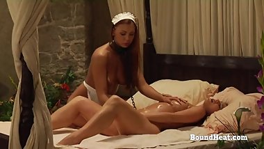 The Education of Adela: Rough Life Of Young Submissive Lesbian Slave