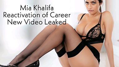 Mia Khalifa Big Titties are Back  Secret Video Leaked
