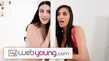 WebYoung Let's Hope 18yo Lesbians GFs Don't Get Caught by Mom